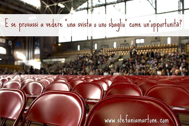 Errore o opportunità - di Stefania Martone - #errore #opportunità #coach #coaching